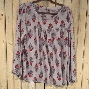Loft floral blouse.